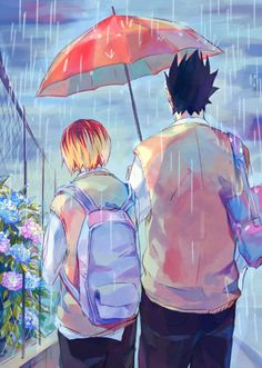 """This Rainy Days "" - kenma kozume  x kuroo tetsurou"