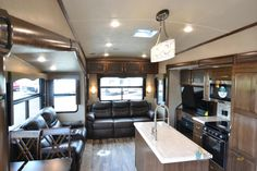 New 2019 Forest River RV Cedar Creek Silverback Fifth Wheel Furniture Packages, Forest River Rv, Cedar Creek, Campers For Sale, Fifth Wheel, Big Daddy, London, Table, Home Decor