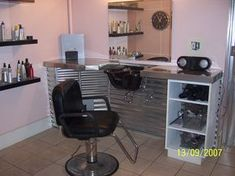 Captivating Picture Of House Salons | This Is Another View Of The Salon Laundry Room Part 26