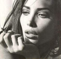 Christy Turlington photographed by Steven Meisel _
