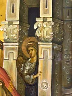 John Chrysostom, Byzantine Art, Art Icon, Mosaic Art, Painting Inspiration, Fresco, Style Icons, Saints, Hand Painted
