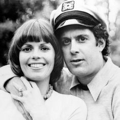 Captain and Tennille.from the waist up...cut my hair to look just like hers-