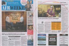 Platform 72 featured in Australian Financial Review Weekend on 16 August, 2014