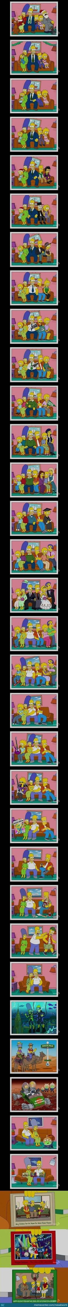 The Simpsons Evolution