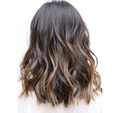 Love the balayage and cut from Johnny Ramirez & Anh Co Tran