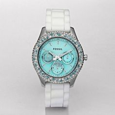 Tiffany blue watch, Fossil - IN LOVE with this