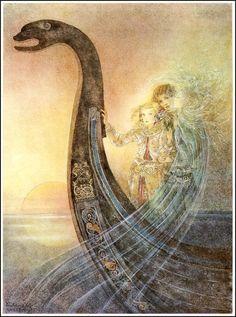 Little Mermaid ~ Sulamiuth Wulfing (1901-1989)