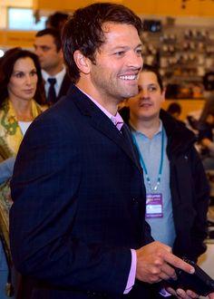 Misha Collins at the ComicCon in Russia