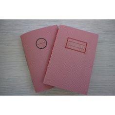 Πουά Ροζ Σημειωματάριο με γραμμές, δεμένο στο χέρι My Notebook, Notebooks, Bullet Journal, Blog, Notebook, Scrapbooking