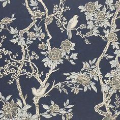 Ralph Lauren wallpapers at discount prices. Ralph Lauren has a love for big and bold patterns. is your authorized dealer for Ralph Lauren wallpaper. Office Wallpaper, Chic Wallpaper, Wallpaper Online, Wallpaper Samples, Trendy Wallpaper, Blue Wallpapers, Wallpaper Roll, Pattern Wallpaper, Blue Floral Wallpaper