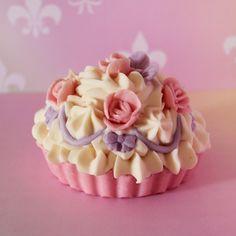 Marie Antoinette cupcake soap