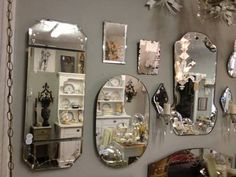 Antique and Vintage Mirrors - $20 and up