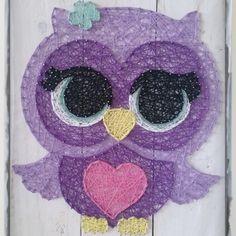 Olivia Owl string art