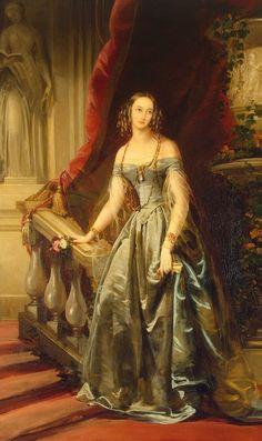 """""""Olga Nikolaïevna"""" (1841) by Christina Robertson (1796-1854)."""