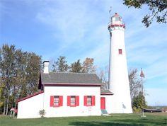 Sturgeon Point Lighthouse  Lake Huron MI