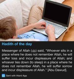Hadith of the day Remember Allah always! Prophet Muhammad Quotes, Hadith Quotes, Imam Ali Quotes, Muslim Quotes, Quran Quotes, Religious Quotes, Allah Quotes, Qoutes, Islam Hadith