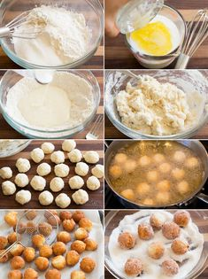 Homemade Donuts - these donut holes taste like the cake donuts you get at the local bakery but you can make them at home in 15 minutes! Twist Donut Recipe, Donut Hole Recipe, Donut Recipes, Candy Recipes, Holiday Recipes, Snack Recipes, Dessert Recipes, Cooking Recipes, Desserts