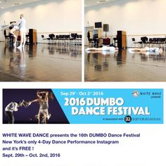 Szept.30-okt.1. fellépés New Yorkban a 2016Dumbo Dance Festivalon!...:)