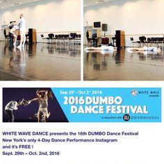 Szept.30-okt.1. fellépés New Yorkban a 2016Dumbo Dance Festivalon!...:)