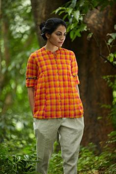 """Thanks for the kind words! ★★★★★ """"Incredibly Beautiful... the colors are so bright, even more beautiful than on the pictures!!! And so well sewed. Thank You my Favorite Shop."""" Framboise F. http://etsy.me/2Aym4fH #etsy #clothing #women #shirt #dress #crepe #kaithari #kerala #india"""