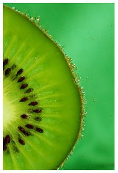 kiwi is an energy boosting fruit. it is the most energy-packed of all the fruits. Fruit Photography, Macro Photography, Creative Photography, Photography Ideas, Color Photography, Portrait Photography, Photo Fruit, Fruit Picture, Kiwi