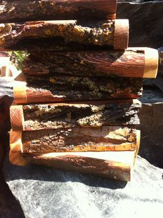 Futo live edge dugouts made from white oak and applewood- regular size.  we custom mill our live edge woods. made in canada #dugouts #onehitter #420 #headshop #futo  http://www.futodugouts.com https://www.facebook.com/futo.manufacturing  https://www.flickr.com/photos/futodugouts/shares/J90v95 | Futo Manufacturing's photos