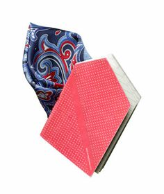 Hankie Pocket:  Is that a handkerchief? This 60-page notebook fits perfectly inside the breast pocket of his suit, making it a stylish grab-and-go note-taker.  36 Unique Gifts for Dad)