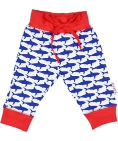 Baba Babywear leuk babybroekje met haaienprint. baba-babywear.nl.emilea.be