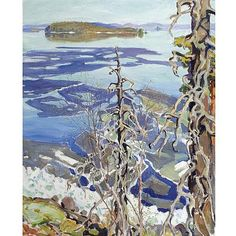 Buy online, view images and see past prices for Akseli Gallen-Kallela Finnish , Jäiden Lähtö Ruovesi (Ice Breaking-up on Lake Ruovesi). Invaluable is the world's largest marketplace for art, antiques, and collectibles. Winter Landscape, Landscape Art, Landscape Paintings, Scandinavian Paintings, Scandinavian Art, Russian Painting, Chur, Watercolor Trees, Impressionist Art