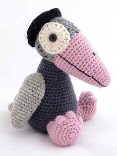 jazz-crow amigurumi crochet pattern
