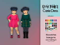 escaping reality: Qvoix Toddler Carrie Dress