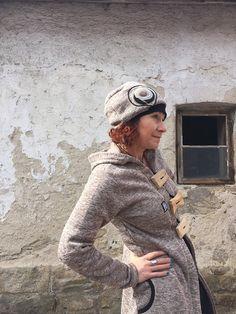 Čepice - baret Captain Hat, Hats, Fashion, Moda, Hat, Fashion Styles, Fashion Illustrations, Hipster Hat
