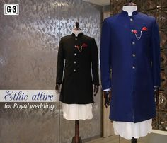 Indo-western Ethnic attire for soon to be groom for destination Royal wedding. ONLY available at G3 Sutaria Ghoddod Rd Store. To Shop with Live Video Calling Service appointment or For Instant Price and Queries Whatsapp - +91-9913433322 #indianwedding #groomswear #ethnicgroom #traditionalgroom #grooms #jewellery #asianbride #asiangroom #fashion #bridalcouture #ethnicgroom #asiangrooms #asianweddings #bridaldestination #couture #groomcouture #luxuryfashion #weddingshopping