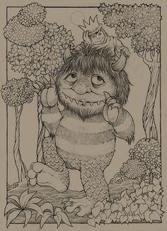 where the wild things are by ultravioletlightsdeviantartcom on deviantart