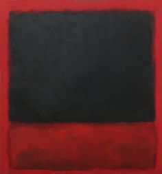 (Black, red over black and red), 1964