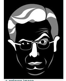 Stephen Colberet Jack-o-Lantern Stencil.