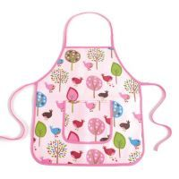 Penny Scallan Chirpy Bird Apron - $24.95. Available at: http://www.mamadoo.com.au/kids-clothes/girls-clothes/girls-hats-and-accessories/ #girls #hats #accessories #hair #hairties #headbands