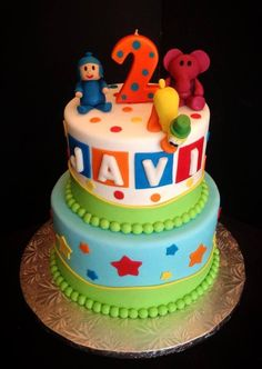 - Pocoyo cake