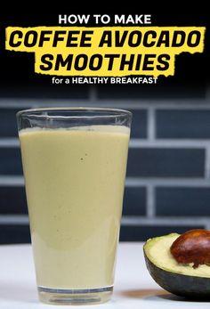 How to Make an Iced Coffee Avocado Smoothie a.k.a. Es Alpuket | Extra Crispy