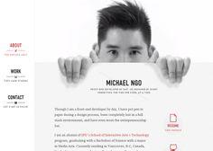 HelloMichael #webdesign #inspiration #UI