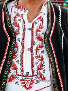 Сапарева баня, Кюстендилско Kyustendil Folk Embroidery, Embroidery Patterns, Folk Costume, Costumes, Cross Stitch Borders, Traditional Dresses, Folklore, Pattern Design, My Style