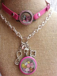Origami Owl Pink enamel face locket.  Click on the pic to order. A wrist wrap locket to match. Something bright and cheerful on a snowy day
