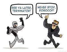 Robocop and the Terminator, 2011