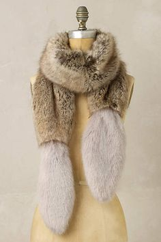 Frosty Faux Fur Stole - anthropologie.com