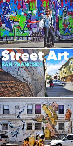When it comes to Street Art, San Francisco (California) is one of the best places in the world to be in. The city manages to always be highly updated with current affairs and the art seen here clearly reflects that. With time styles evolve, yet there are distinct styles from different artists and as they say, there is always something for everyone :)