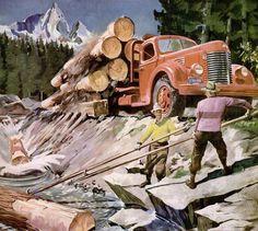 international trucks 1946