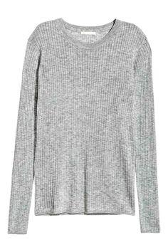 20 Camiseta en punto de canalé | H&M