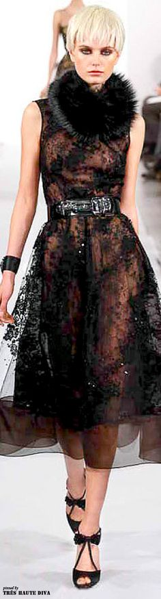 #NYFW Oscar de la Renta Fall/Winter 2014 RTW
