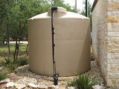 2500 gallon water storage tank with a internal electrical float switch to control the submersible pump systems