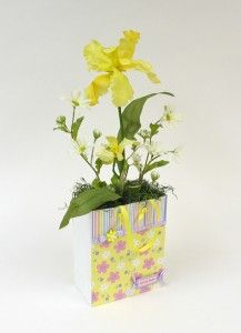 DIY Welcome Spring Gift Bag using FloraCraft Foam